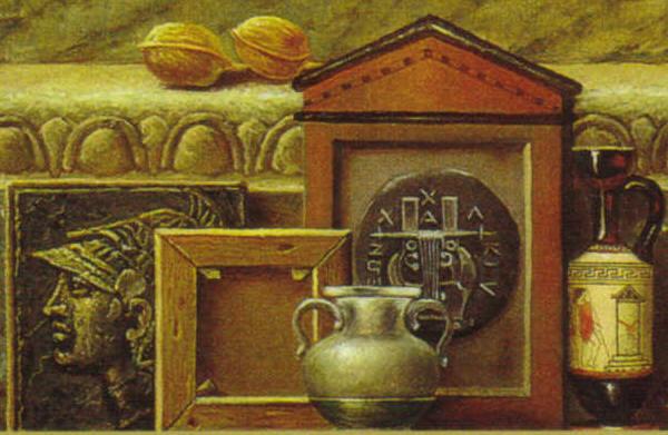 Λεπτομερεια εργου του ζωγράφου Μανωλίδη
