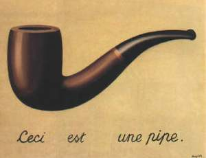 Magritte's Pipe
