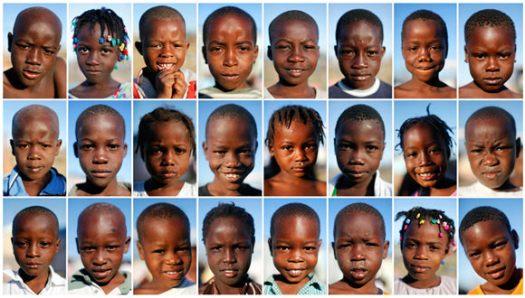 Haiti kids (From The Boston Globe's The Big Picture, REUTERS/Jorge Silva)
