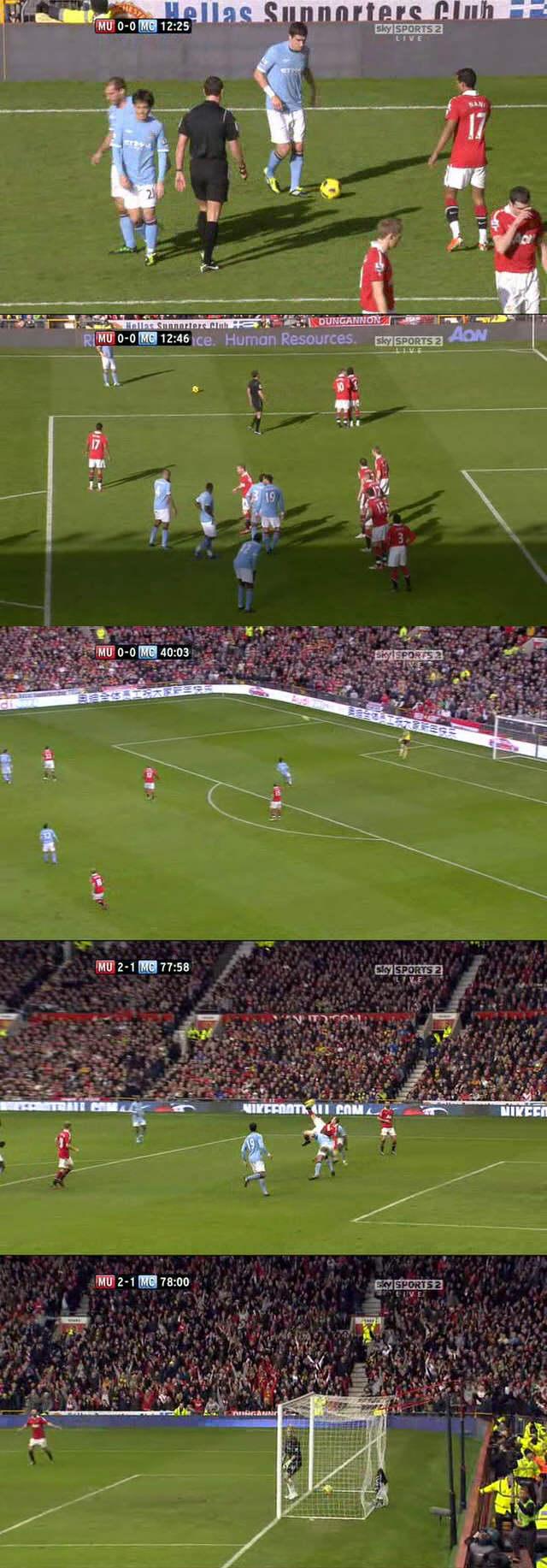 Old Trafford 12 February 2011
